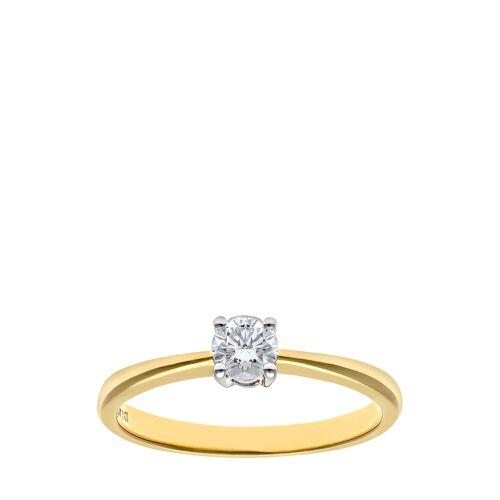 Rinani Verlobungsring, 750 Gelbgold, Diamant