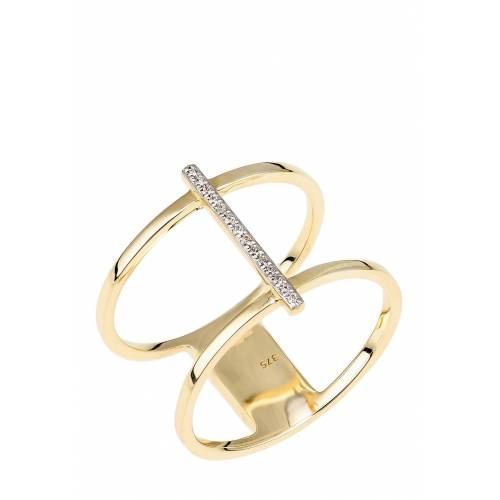 Rinani Ring, 375 Gelbgold, Diamant