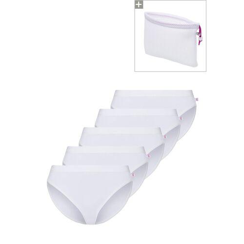 Beedees Slip Microfun Tai, 5er-Pack, weiß