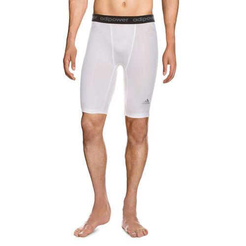 Adidas Unterhose, 1/2-Länge weiß