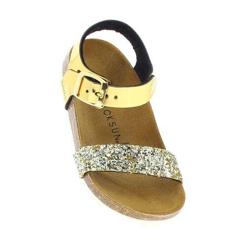 Backsun Sandalen, gold