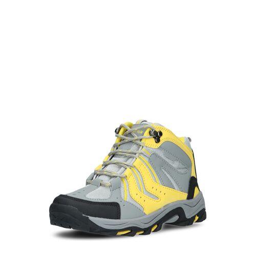 Kimberfeel Trekking-Boots Kala, gelb/grau