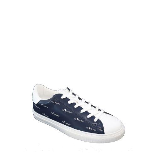 TRU Trussardi Sneaker, weiß/blau