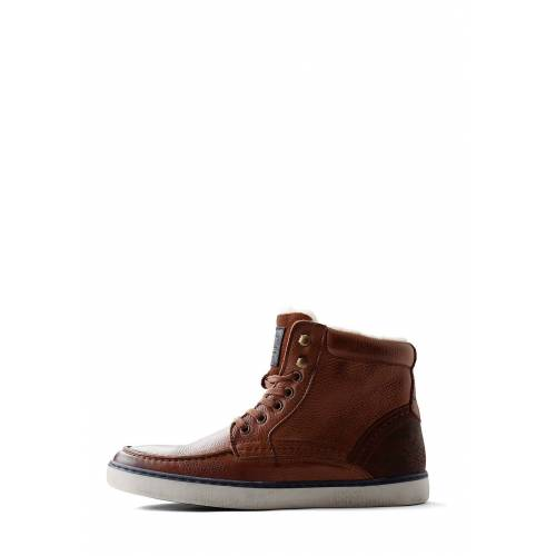 Travelin Sneakers Kallax, Leder, knöchelhoch, braun