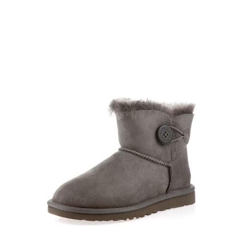 UGG Boots Mini Boton, Lammfell, grau