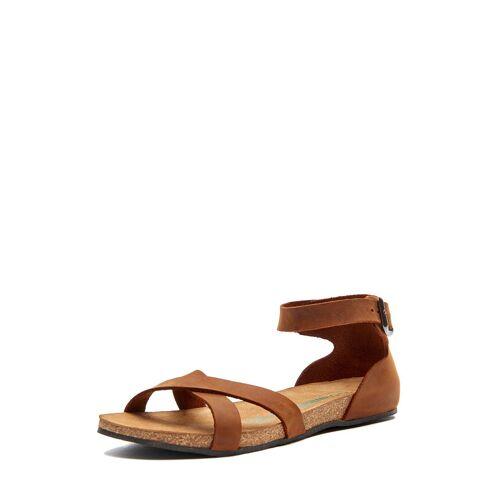 Comfortfüsse Sandalen Milano, Leder braun
