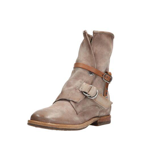 As98 Boots Zeport, Leder beige