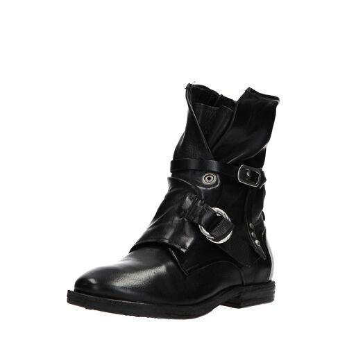 As98 Boots Zeport, Leder schwarz