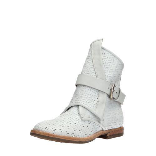 As98 Boots Zeport, Leder weiß