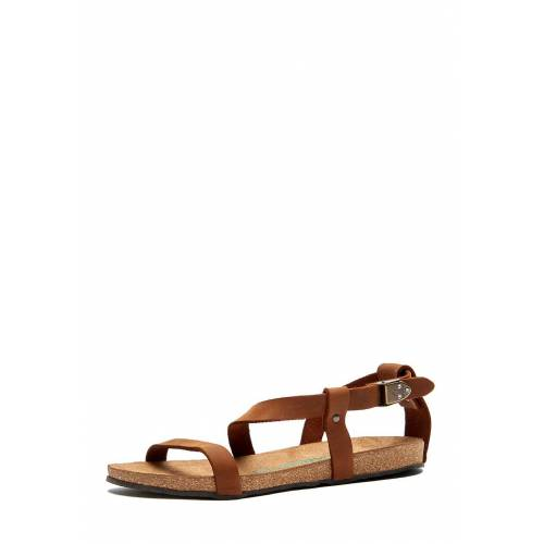 Comfortfüsse Sandalen Grady, Leder braun