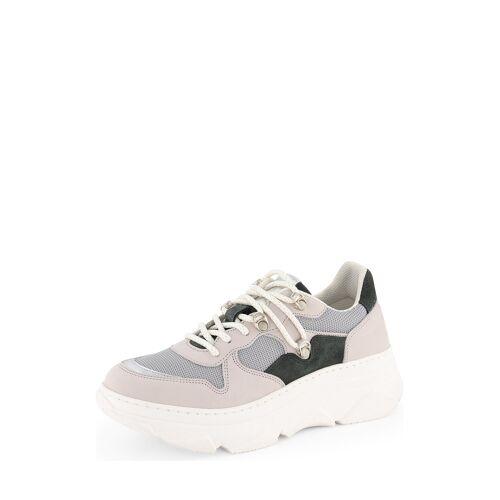 Nogrz Sneaker E. Boullee, Leder, Absatz 4 cm bunt