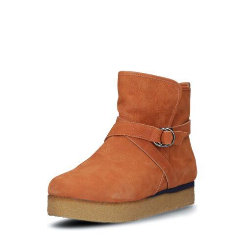 Flip*flop Plateau-Ankle-Boots Billy, Leder, hazelnut braun