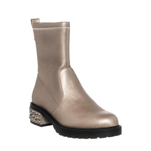LIU JO Boots Nancy, Absatz 4 cm gold