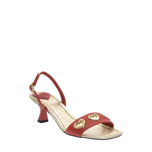 Love Moschino Sandalen, Leder rot