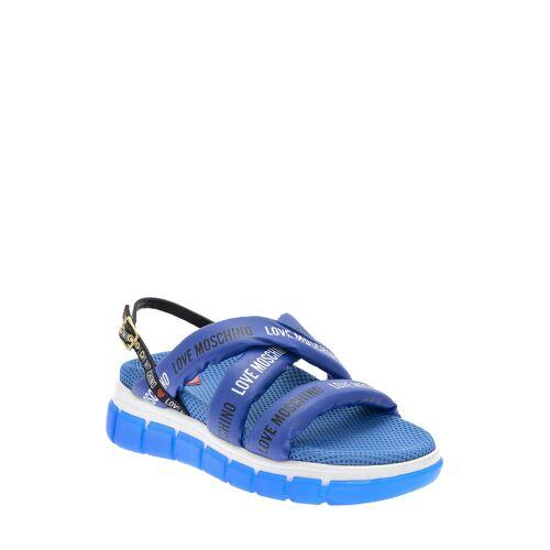 Love Moschino Sandalen blau