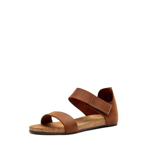 Comfortfüsse Sandalen Occa, Leder braun
