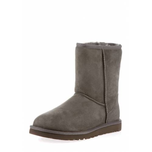 UGG Boots Classic Short II, Lammfell, grau