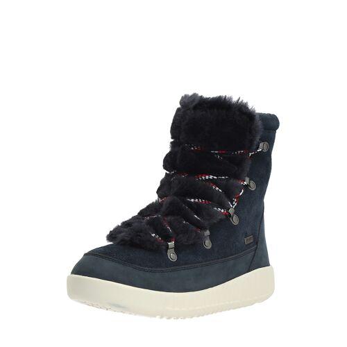 Pajar Snow-Boots Pamona, Leder, gefüttert, blau