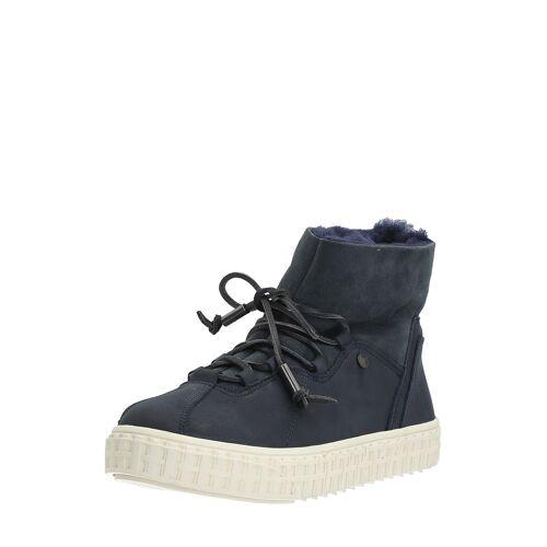 Pajar Boots Liberty, Leder, gefüttert, blau