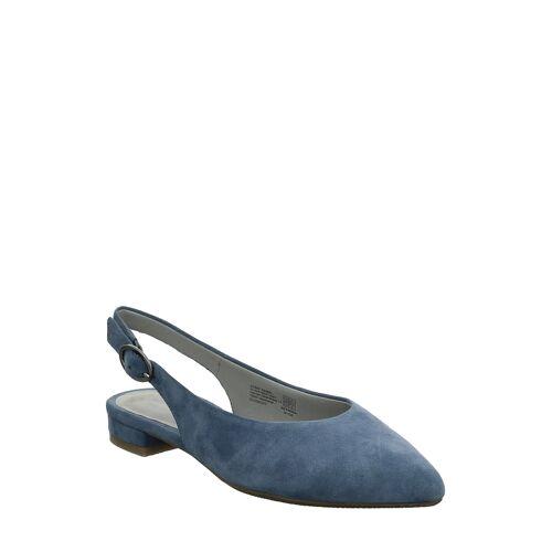 Gerry Weber Slingback-Ballerinas Barcelona, Leder, blau