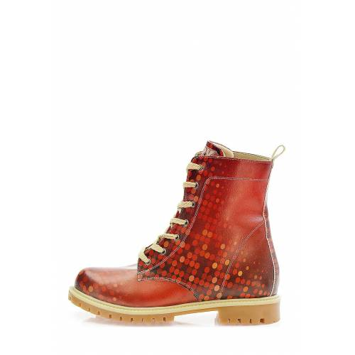 Goby Boots, mehrfarbig rot
