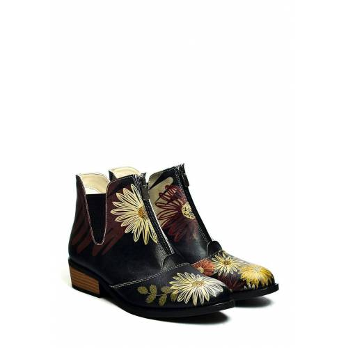 Goby Ankle-Boots, schwarz