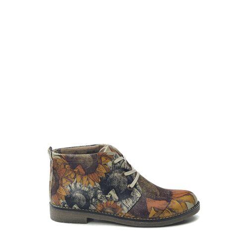 Goby Desert-Boots, Leder bunt