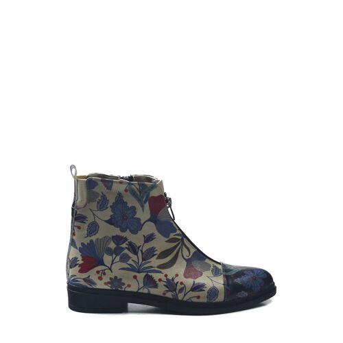 Goby Boots, Leder bunt