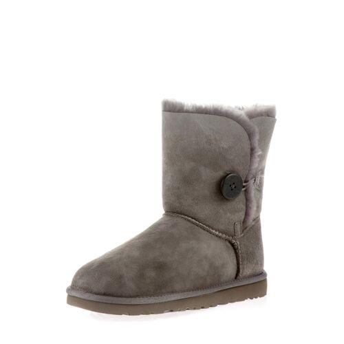 UGG Boots Bailey Button II, Lammfell, grau
