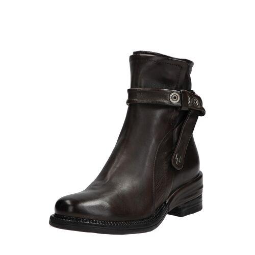 As98 Boots Miracle, Leder, Absatz 5 cm grau
