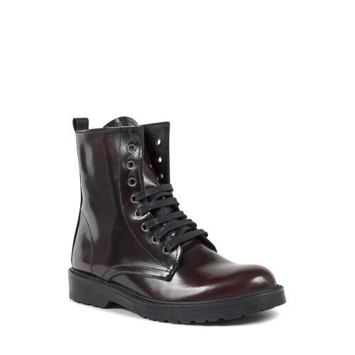 19V69 Italia Boots, Leder rot