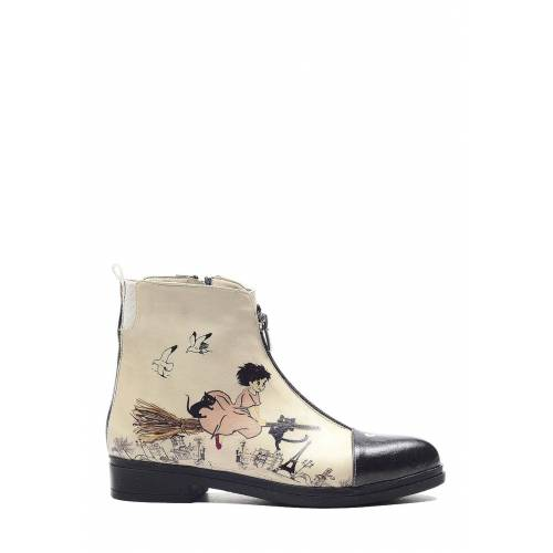 Goby Boots weiß
