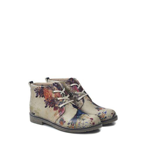 Goby Desert-Boots grau