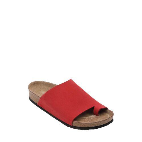 Sundias Pantoletten Harput, Leder rot