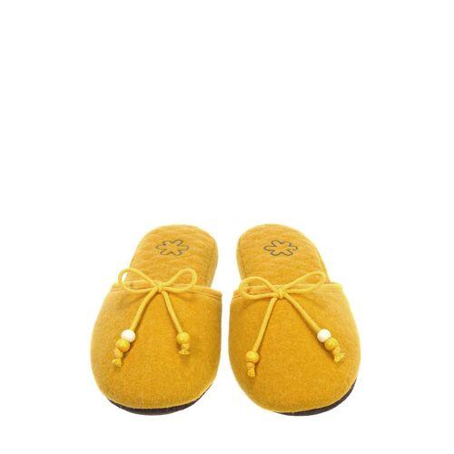 Flip*flop Hausschuhe, Wolle gelb