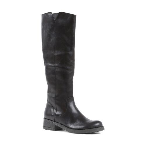 19V69 Italia Stiefel, Leder, Absatz 4 cm braun