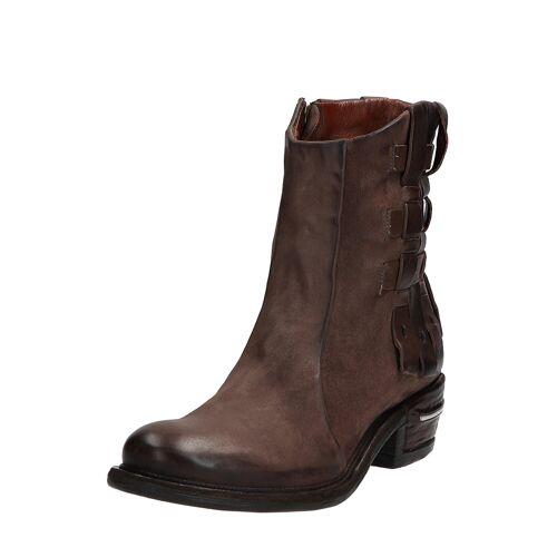 As98 Ankle-Boots Ignix, Leder, Absatz 5 cm braun