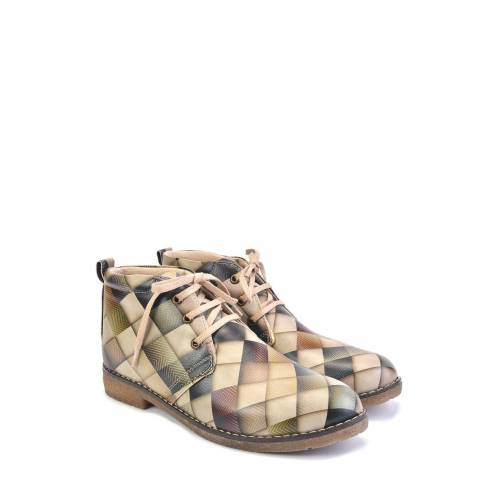 Goby Ankle-Boots bunt