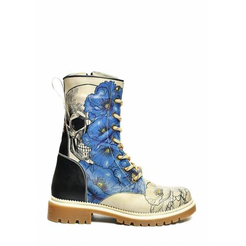 Goby Boots, Absatz 4 cm bunt