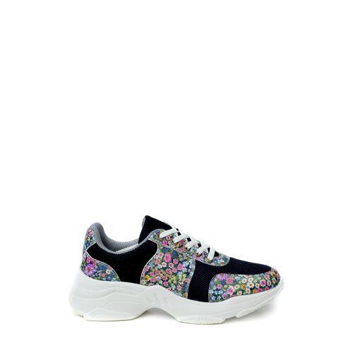 Goby Sneaker, Absatz 6,3 cm bunt