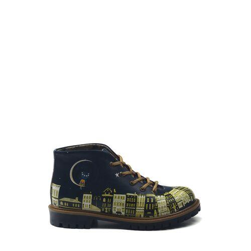Goby Boots, Absatz 3,5 cm bunt