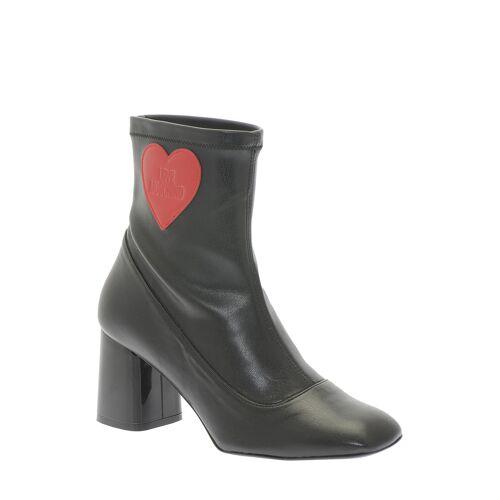 Love Moschino Stiefeletten, Absatz 8 cm schwarz