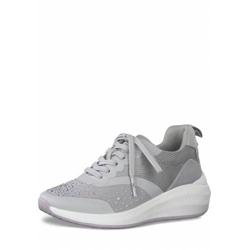 Tamaris Sneaker, Absatz 5 cm grau