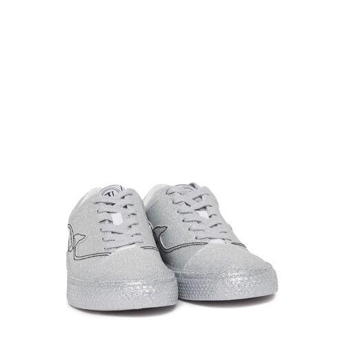 Trussardi Jeans Sneaker silber