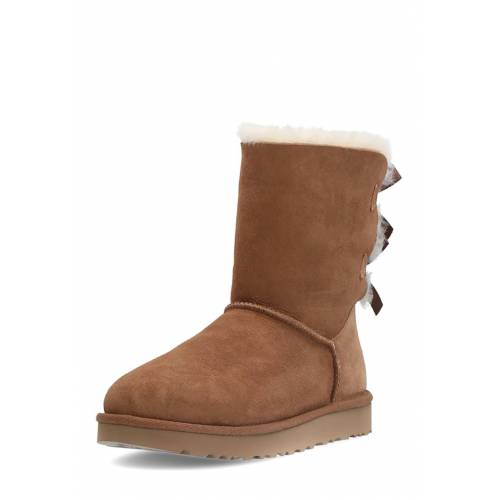 UGG Boots Bailey Bow II, Lammfell, braun