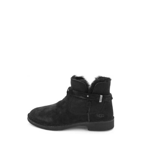 UGG Boots Elisa, Lammfell schwarz