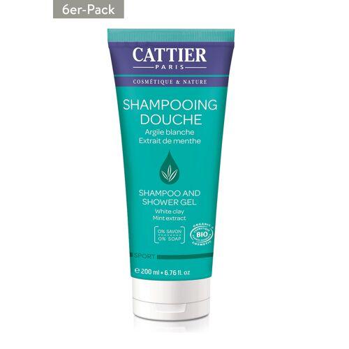 Cattier Paris Shampooing Douche, 6x 200 ml   [25,83€*/1l]