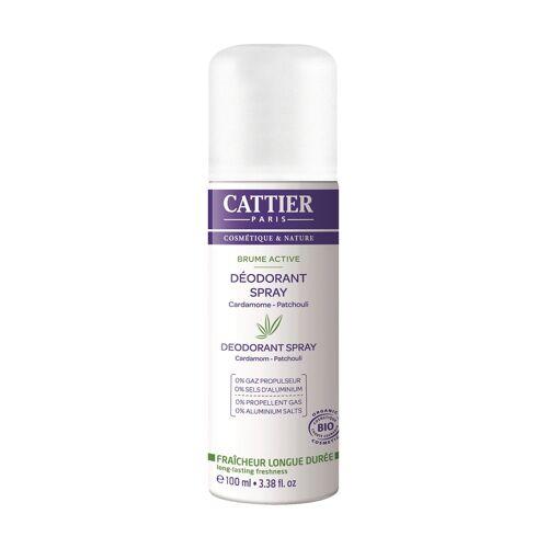 Cattier Paris Deodorant Brume Active, 6x 100 ml   [71,65€*/1l]