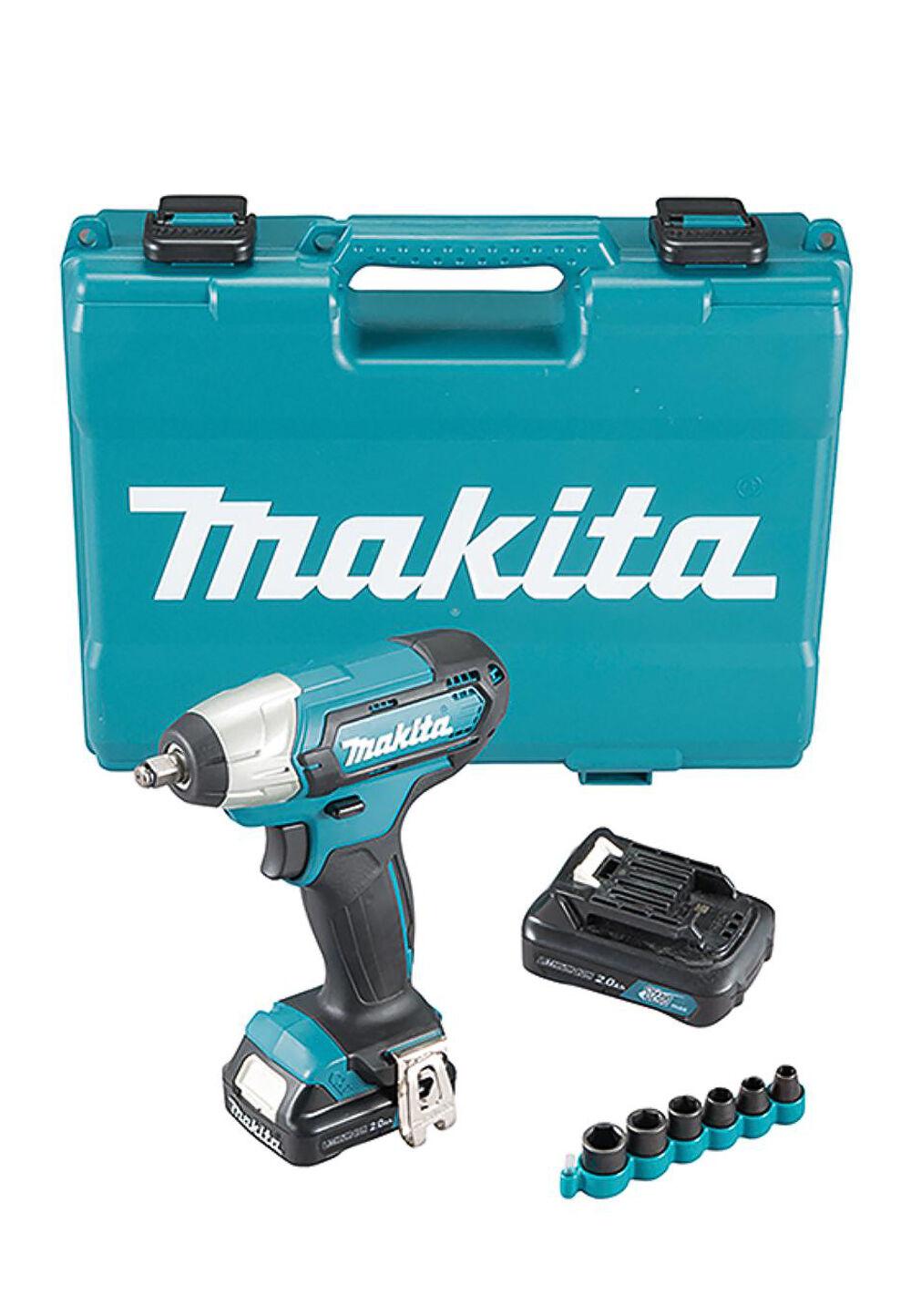 Makita Akku-Schlagschrauber-Set Tw140Dsaex, 5-teilig