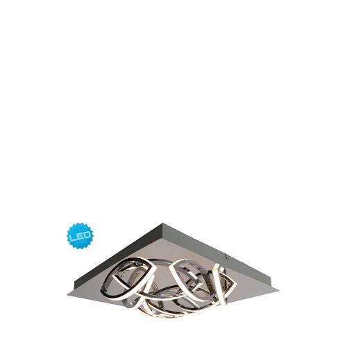 Näve LED-Deckenleuchte Manc, B41 x H8,5 x T41 (A)